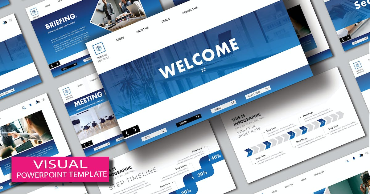 Download Visual - Powerpoint Template by joelmaker