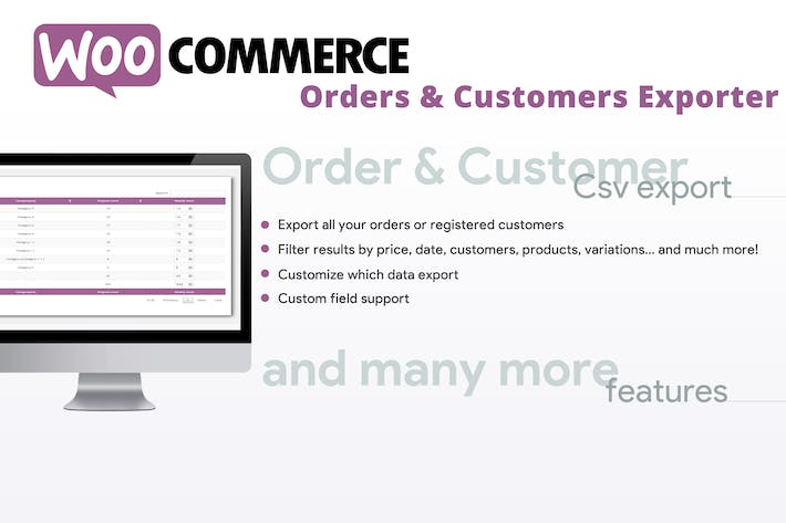 Thumbnail for WooCommerce Orders & Customers Exporter