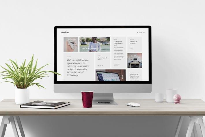 Thumbnail for Pasadena – Unique Responsive HTML5 Portfolio
