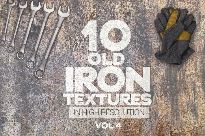 Thumbnail for Old Iron Textures x10 Vol 4