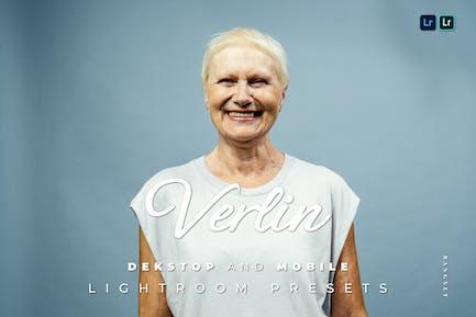 Verlin Desktop and Mobile Lightroom Preset