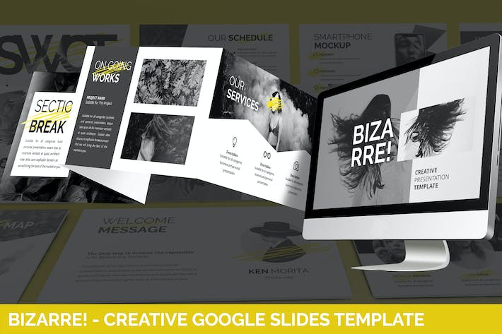 Thumbnail for Bizarre - Creative Google Slides Template