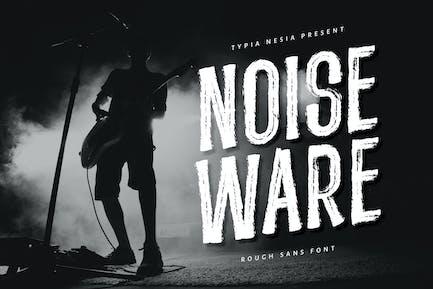 Шрифт Noiseware - Ручной щеткой