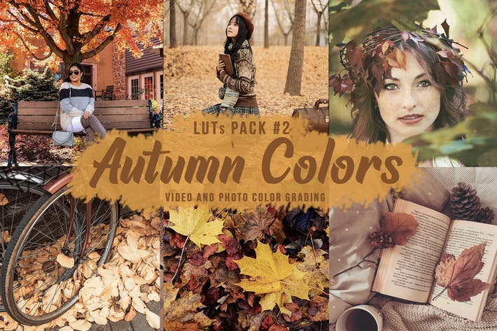 Thumbnail for Autumn Colors LUTs Pack#2