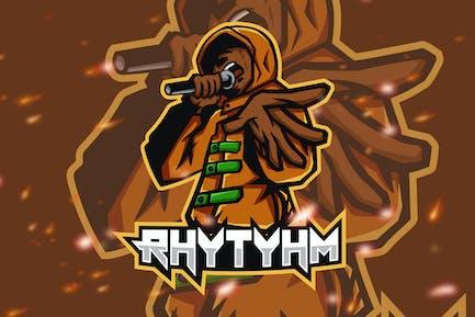 Rhythym Rap Rnb Hip Hop Battle Logo
