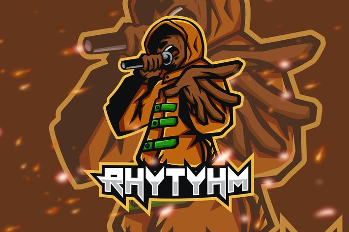 Thumbnail for Rhythym Rap Rnb Hip Hop Battle Logo
