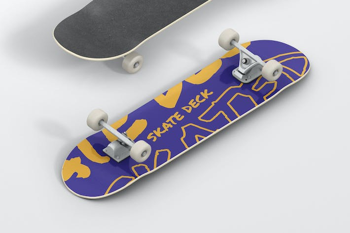 Thumbnail for Skateboard Mockup