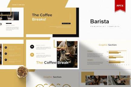 Barista | Шаблон Powerpoint