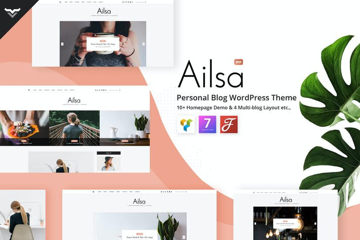 Thumbnail for Ailsa - Personal Blog WordPress Theme
