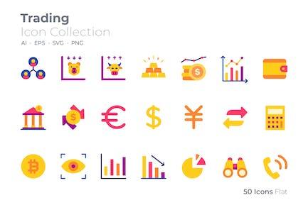 Trading Color Icon