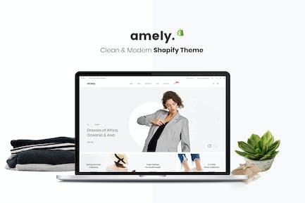 Amely - Clean & Modern Shopify Theme