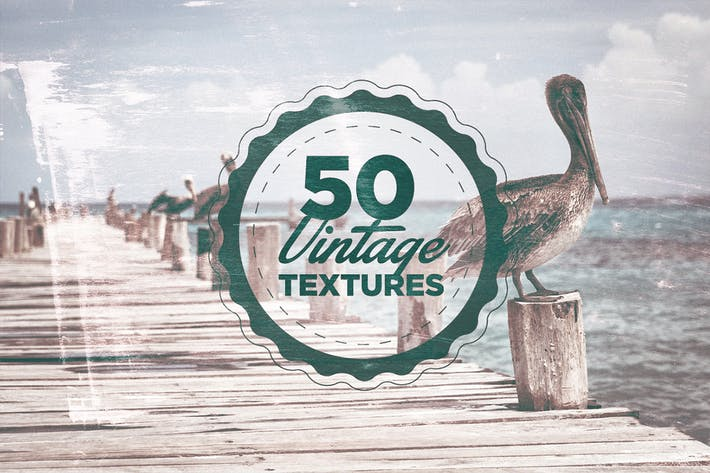 Thumbnail for 50 Vintage Grain Textures