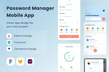 Password Manager Mobile App