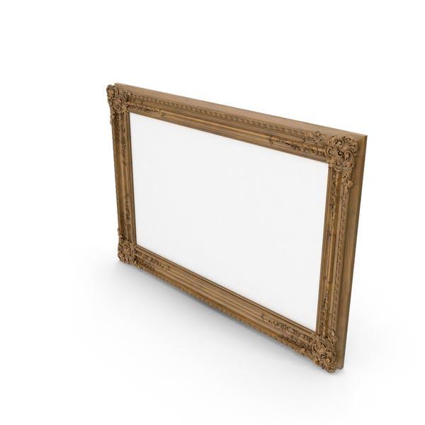 Wooden Oak Baroque Picture Frame