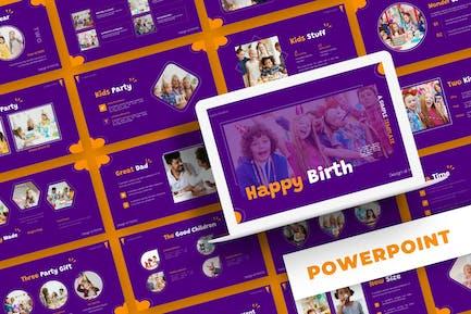 Happy Birth - Powerpoint Template