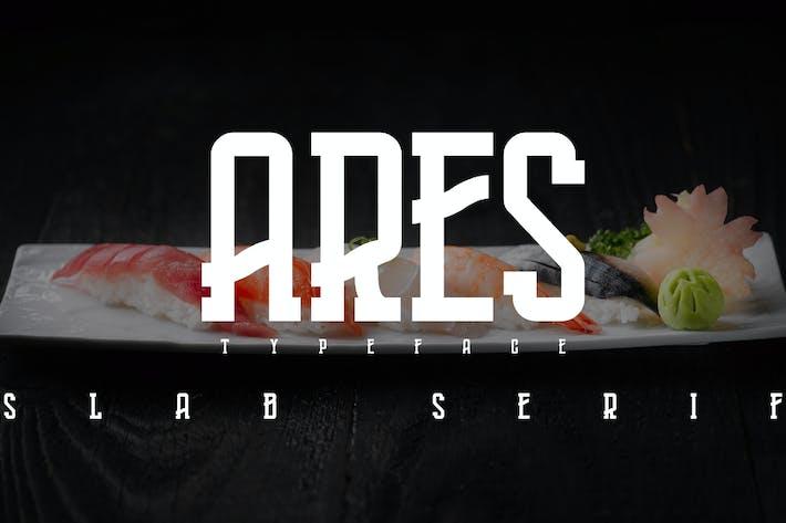 Thumbnail for ARES - Fuente Con serifa