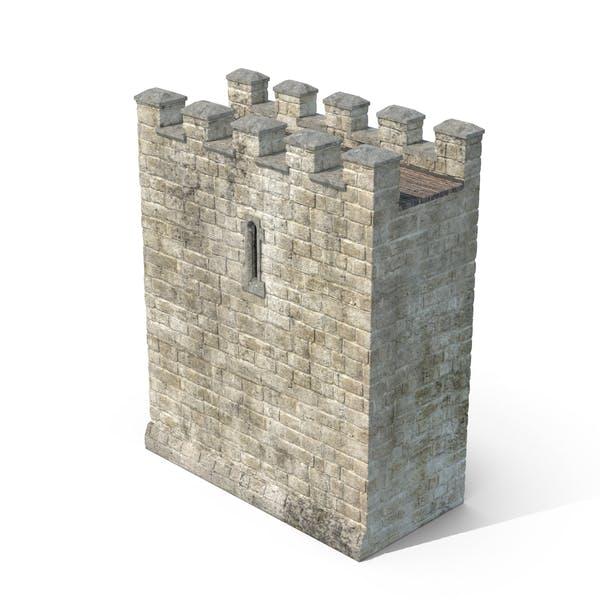 Секция стены замка