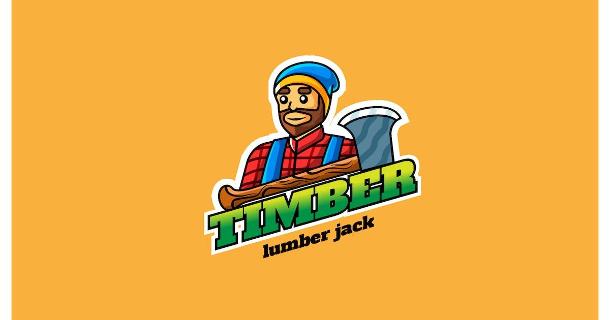 Download timber lumber - Mascot & Esport Logo by aqrstudio