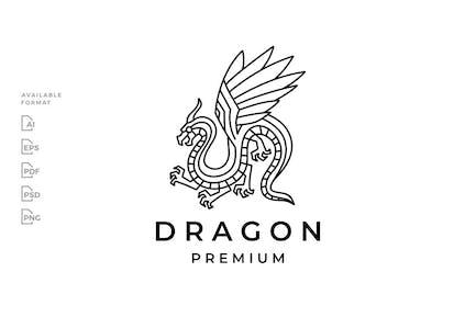 Dragon Monoline Logo