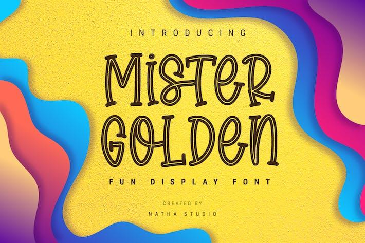 Thumbnail for Mister Golden