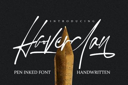 Hooverclan - Stylo encré manuscrit