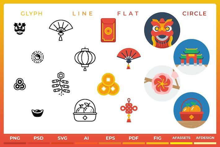 Chinesisches Neujahr - Icon't Event 48