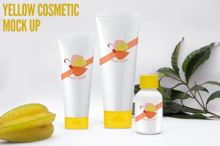 Thumbnail for Gelbe Kosmetik Mock Up