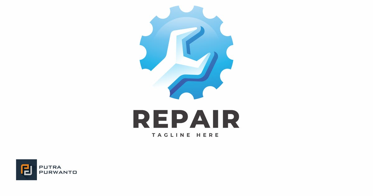 Download Repair - Logo Template by putra_purwanto