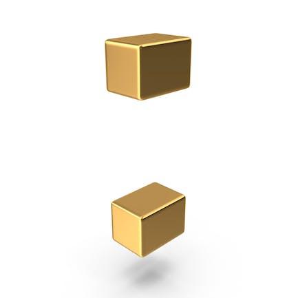 Gold Colon Symbol