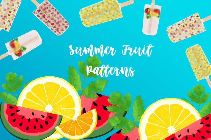 Thumbnail for Summer Fruit Patterns