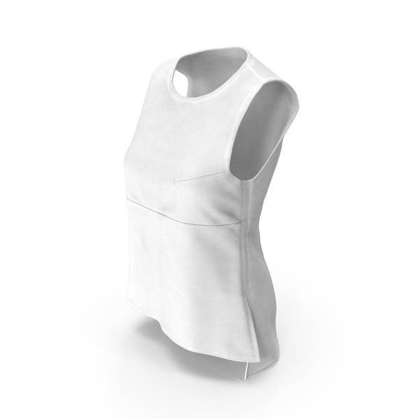 Thumbnail for Women's Vest White
