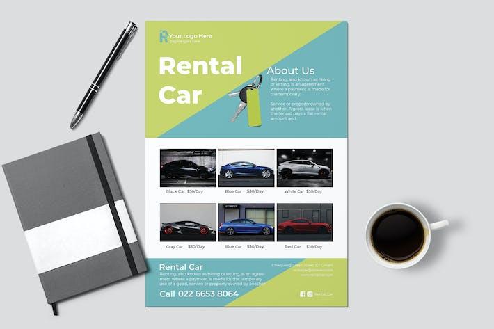 Car Rental Flyer
