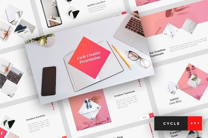 Thumbnail for Cycle - Creative PowerPoint Template