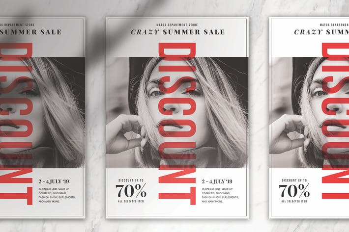 Thumbnail for Simple & Modern Fashion Flyer Template