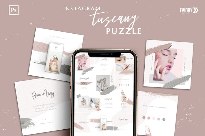 Thumbnail for Toskana - Instagram PUZZLE