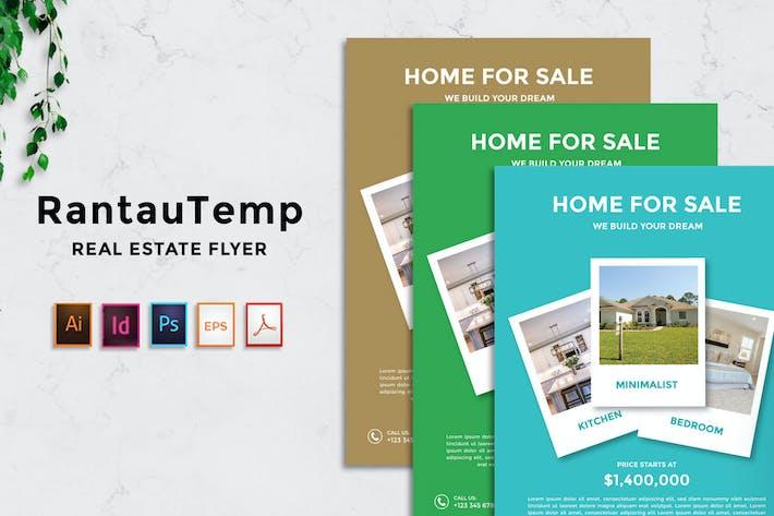 Thumbnail for RantauTemp - Real Estate Flyer v6