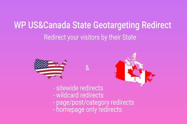 Thumbnail for WP US&Canada State Geotargeting Redirect