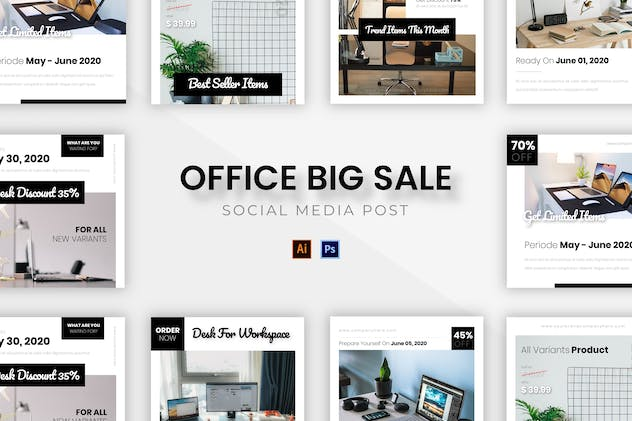 Office Big Sale Socmed Post