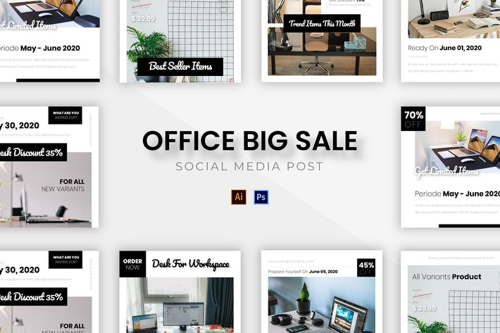 Thumbnail for Office Big Sale Socmed Post