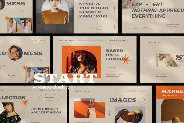 Start - Creative Agency Google Slides