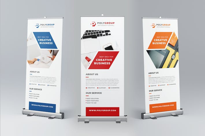 Thumbnail for Corporate Business Roll Up Banner Promotion