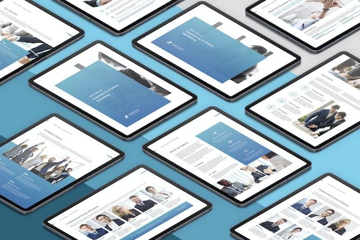 Thumbnail for Creative Marketing – eBook Company Profile