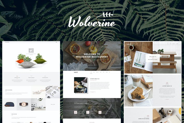 Thumbnail for Wolverine - Multipurpose Website Templates