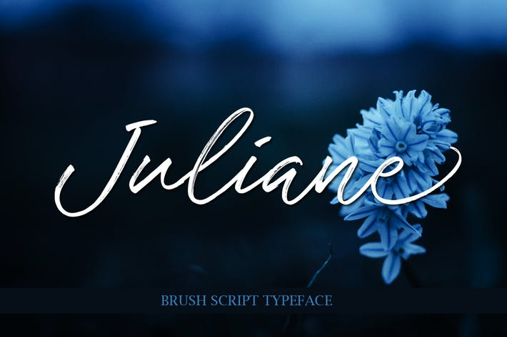Thumbnail for Juliane Brushscript