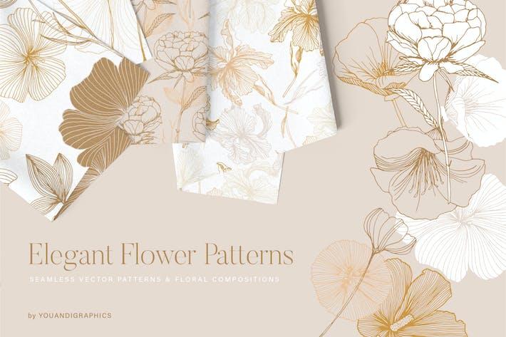 Thumbnail for Элегантные цветочные узоры