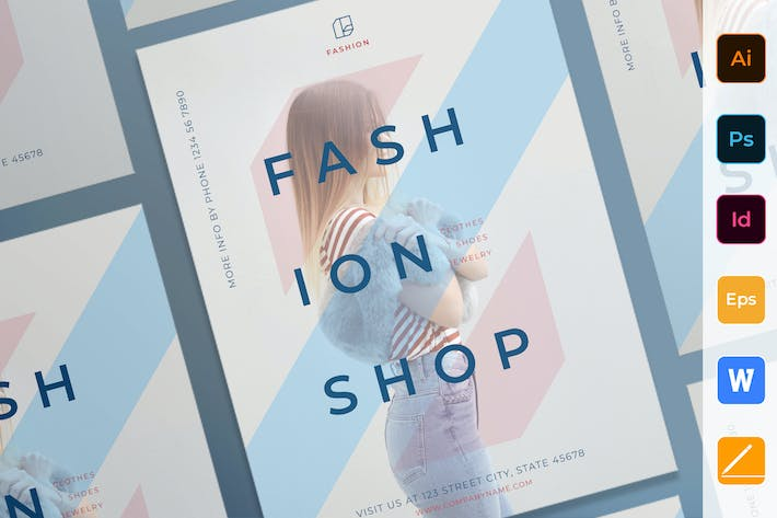 Thumbnail for Fashion Shop Poster