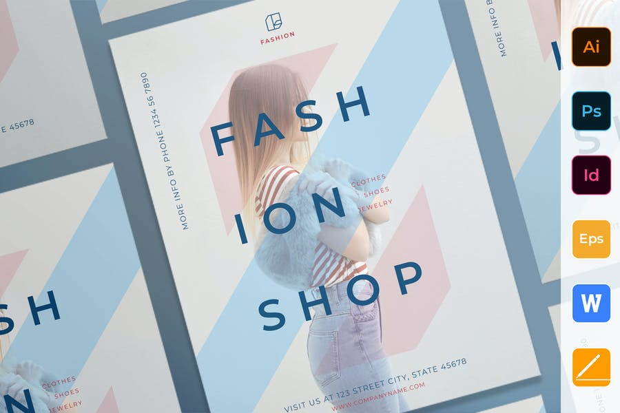 Fashion Shop Poster