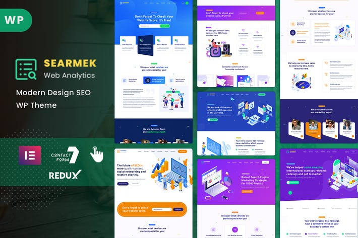 Thumbnail for Searmek - SEO and Marketing WordPress Theme