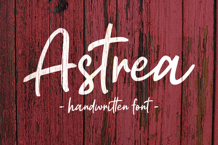 Thumbnail for Astrea - Handwritten Font