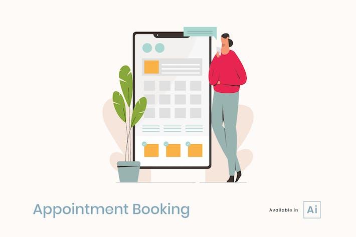 Réservation de rendez-vous avec Smartphone